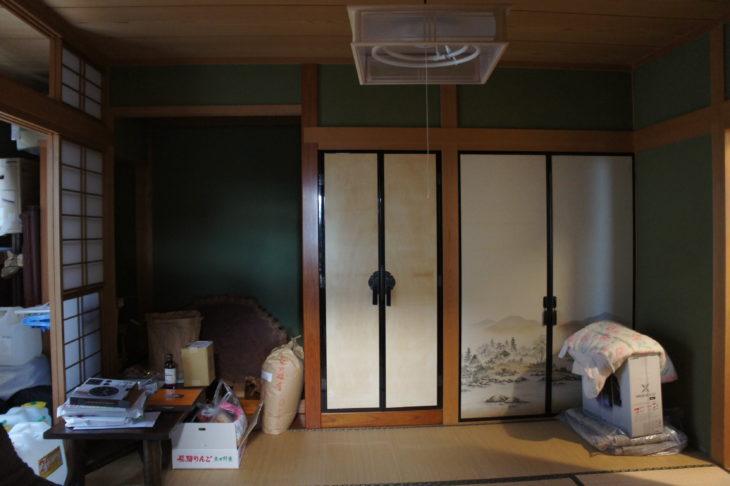 岐阜市の自然素材リフォームした施工事例1枚目