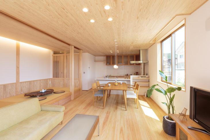 岐阜市の自然素材リフォームした施工事例3枚目