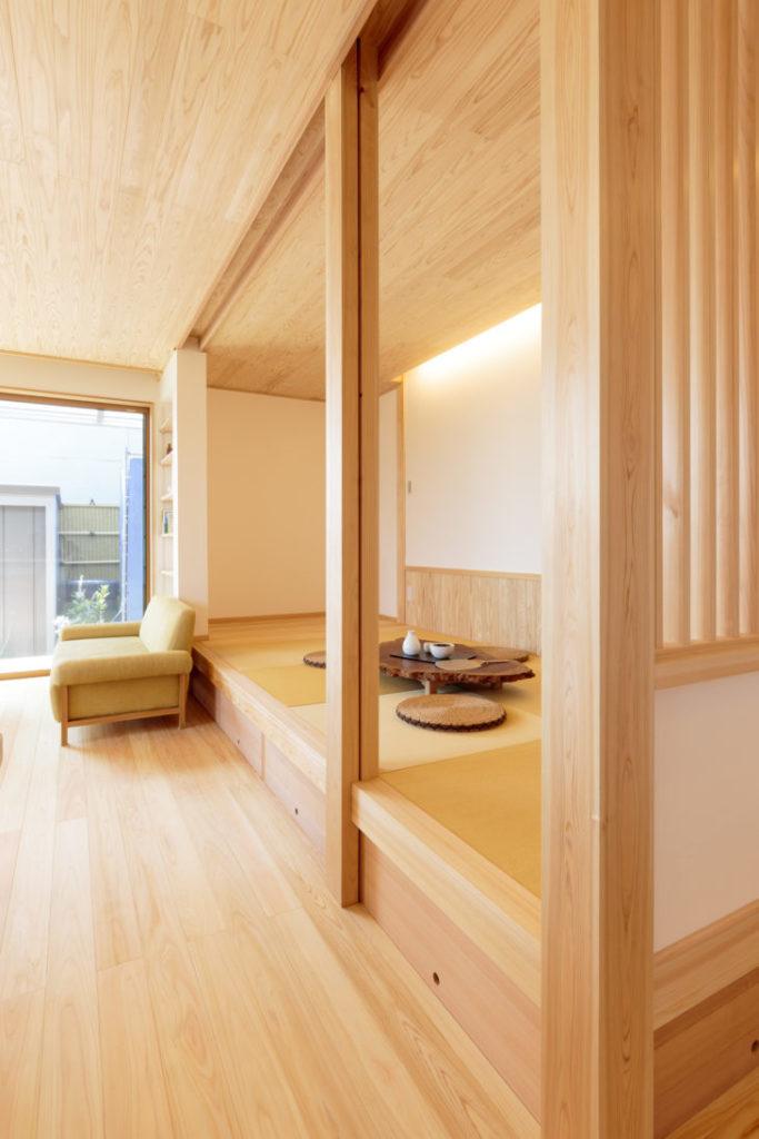 岐阜市の自然素材リフォームした施工事例7枚目