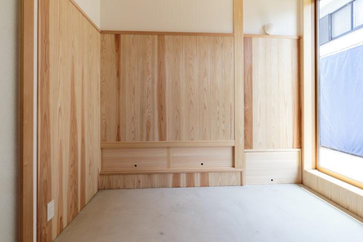 岐阜市の自然素材リフォームした施工事例9枚目