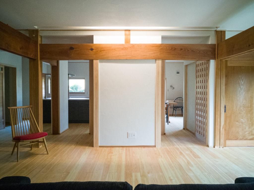 岐阜で築40年の家の断熱改修とフルリノベーション施工事例11枚目