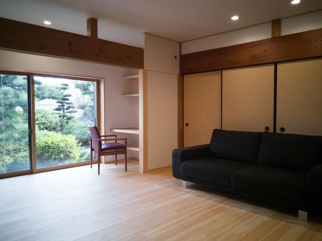 岐阜で築40年の家の断熱改修とフルリノベーション施工事例6枚目