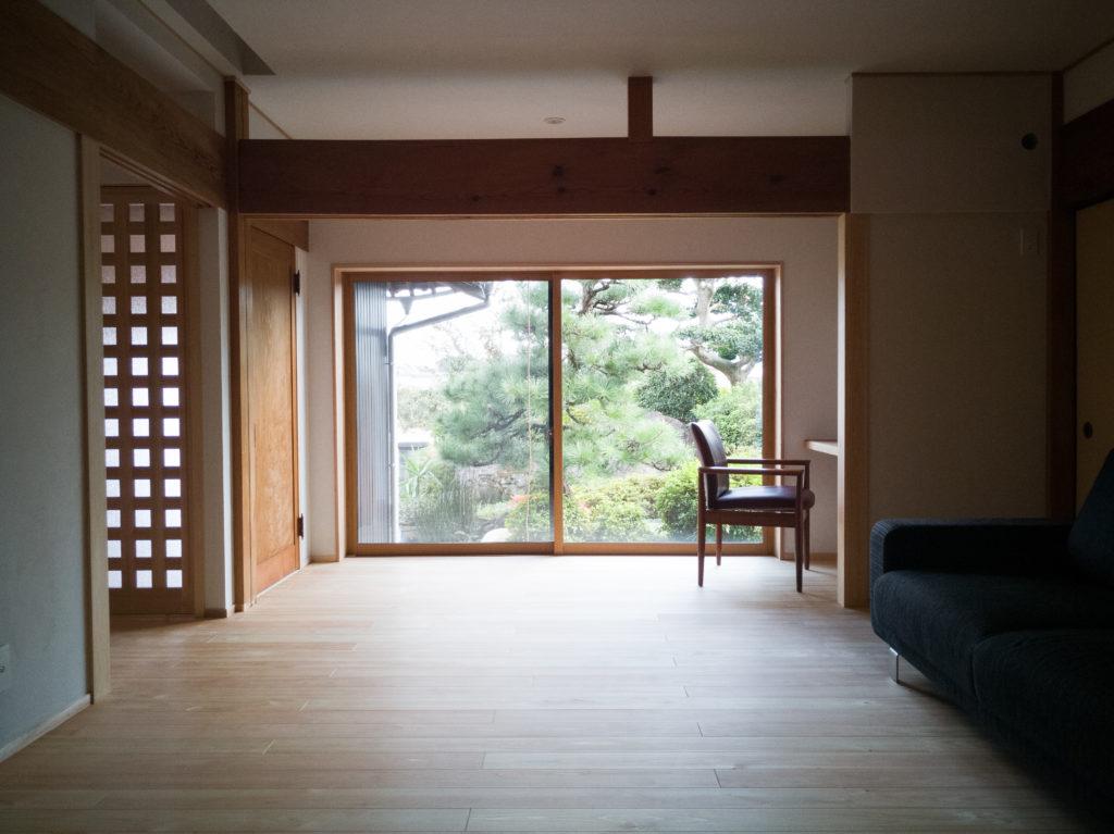 岐阜で築40年の家の断熱改修とフルリノベーション施工事例5枚目